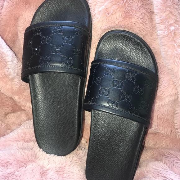 3aae226f4 Gucci Shoes | Signature Slide Sandal | Poshmark